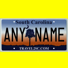Bicycle license plate - South Carolina design, new custom personalized, any name