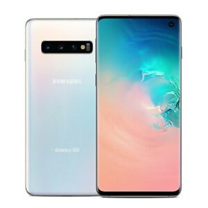 Samsung Galaxy S10 SM-G973U - 128GB - Prism White (Sprint/AT&T/T-Mobile/Verizon)