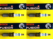 New SET OF 4 BOSCH Platinum Ir Iridium Fusion Spark Plugs - Made in Germany