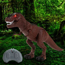 Walking Dinosaur Toy w/ Remote Control Light & Sound Action Figure Real Movement