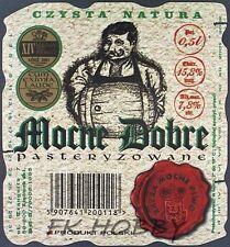 Poland Brewery Lwówek Śląski Mocne Dobre Beer Label Bieretikett Cerveza ls134.2