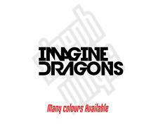 Imagine Dragons vinyl sticker decal car ipad laptop cd band night visions
