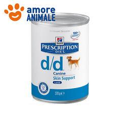 Hill's Canine d/d Agnello e Riso 370 grammi - Alimento umido per cane cani