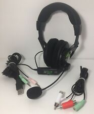 Turtle Beach Ear Force X12 Black and Green Headset With Microphone For Xbox One