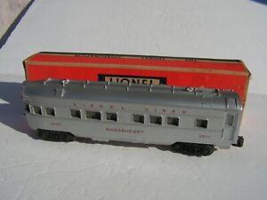 "Lionel 2436 ""Mooseheart"" Observation Car Ex++/OB"