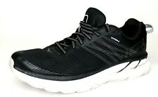 Hoka One One Mens Size 9.5 Clifton 6 | EXCELLENT | Black Athletic Running Shoes