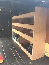 VW CRAFTER Storage Accessories Van Racking Sytem Plywood Shelving