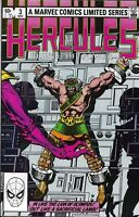 Hercules Comic Issue 3 Limited Series Bronze Age First Print Layton Parker 1982