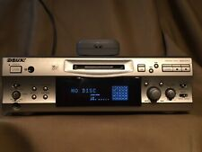 Used Sony Mini Disc Deck Mds S-707 With Remote Works See Description
