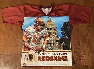 Vintage Washington Redskins NFL Mesh CCM Football Jersey Size L/XL