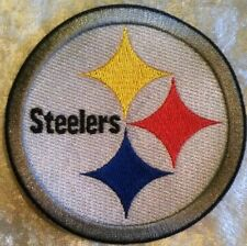 """Pittsburgh Steelers NFL 3.5"""" Iron On Embroidered Patch ~USA Seller~FREE Ship"""