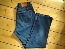 RM Williams Womens Denim Blue Jeans Dark Wash TJ241 Straight Leg High Rise Sz 14