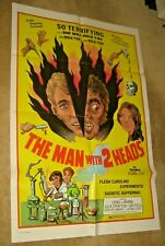 MAN WITH  2 HEADS ' 72 Andy Milligan shlock horror !   AUCTION