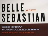 Jeff Kleinsmith BELLE and SEBASTIAN Print Signed & Numbered 61/150 free sh!!!!