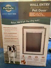 petsafe wall entry pet door Aluminum