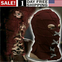 US! BrightBurn Red Hood Cosplay Scary Horror Mask Halloween Costumes Props