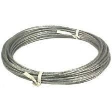 50' Antenna Guy Wire Plastic Coated Galvanized 6/20 Guy Wire for Mast EZ 60