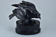 J6d08-Gravité bronze sculpture aigle 20. JH