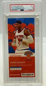 Giannis Antetokounmpo NBA DEBUT ROOKIE Stub Ticket Knicks PSA 2009 Bucks 10/30