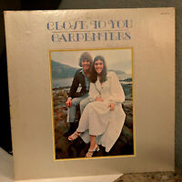 "CARPENTERS - Close To You (SP-4271) - 12"" Vinyl Record LP - VG+"