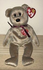 BNWT! TY Beanie Baby 1999 Signature Bear 1999
