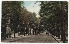 Church St. Looking South Toronto Ontario Prelinen 1909