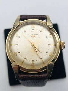 Vintage 1952 LONGINES 10K Gold Filled Cal. 23ZS Manuel Men's Watch- Running