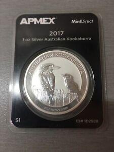 Kookaburra 2017 silver one oz coin