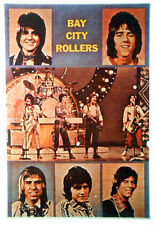 Bay City Rollers T-Shirt Iron-On Vintage Heat Transfer 1970s Usa Real Rarest