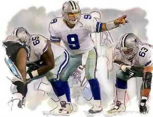 New! Tony Romo Dallas Cowboys Rare Art Print, only 50