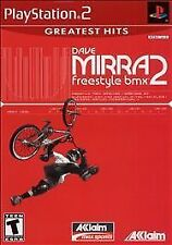 Dave Mirra Freestyle BMX 2 Greatest Hits - Playstation 2 ps2 game only