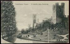 cartolina CASTELFRANCO VENETO il castello della pescheria