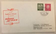 LUFTPOST FLUGPOST • München - Teheran •  1.7.1961 LH 604 Boeing 720 B