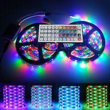 10M 2X5M 3528 SMD RGB 600LEDs LED Flexible Light Strip Lamp DC 12V 44Keys Contro