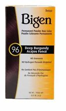 Bigen Permanent Powder Hair Color 96 Deep Burgundy 1 ea 0.21 oz (Pack of 2)
