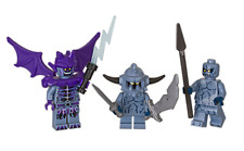 Lego ® Lot x3 Minifig Figurine Nexo Knights Montres des Roches NEW