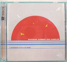 """RYKODISC SUMMER 2005 SAMPLER"" 2 cd promo FRANK ZAPPA ROBERT WYATT MORPHINE"