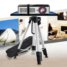 More details for compact height adjustable projector stand tripod with large tray indoor outdoor