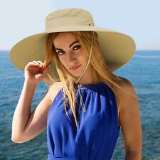 Fishing Bucket Hat Wide Brim Hat Outdoor UV 50 Sun Protection Hats for Men&Women