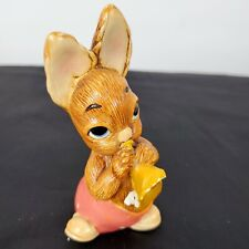 Vintage Pendelfin Rabbit Phumf Hand Painted Made in England Easter Stonecraft