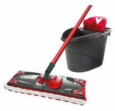 P-Vileda UltraMax Flat Mop and Bucket Set, Multi-Colour