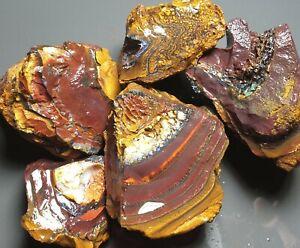 Boulder Opal Rough Parcel Yowah Nut Solid Natural Lapidary Specimens 392 grams