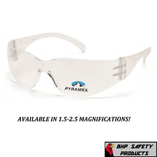 Pyramex Intruder Reader Bifocal Safety Glasses 15 25 Magnification For Reading