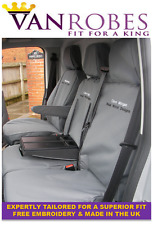 Ford Transit Custom Cab in (2013 on). Tailored Seat Covers. With Free Embroidery
