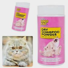 Coco Kat dry shampoo for cats and kittens  Dry Bath No Water Clean
