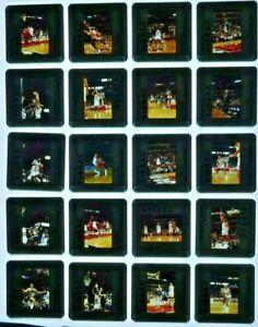 JTM6-5 VTG NBA Chicago Bulls MICHAEL JORDAN Shaq O'Neal (100) ORIG 35mm Slides