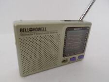 9-Band WORLD RECEIVER+A1 SHORTWAVE! Transistor Model BELL &HOWELL-AM/FM/MW/SW1-7