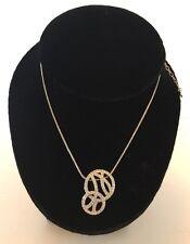 SWAROVSKI Fashion Jewelry Necklace Silver Necklace SWAROWSKI  Crystals