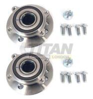 For Mini R55 R56 R57 R58 R59 14Mm Bolts Pack of 2 Front Hub Wheel Bearing
