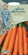 Mr Fothergills - Vegetable - David Domoney Carrot Finger Nantes 5 -2000 Seeds